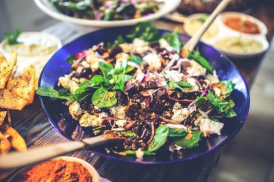 Salatdressing mit Kokosöl