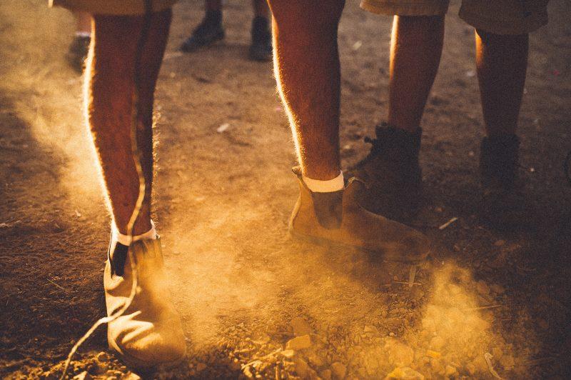 Kokosöl lässt Schuhe wieder glänzen