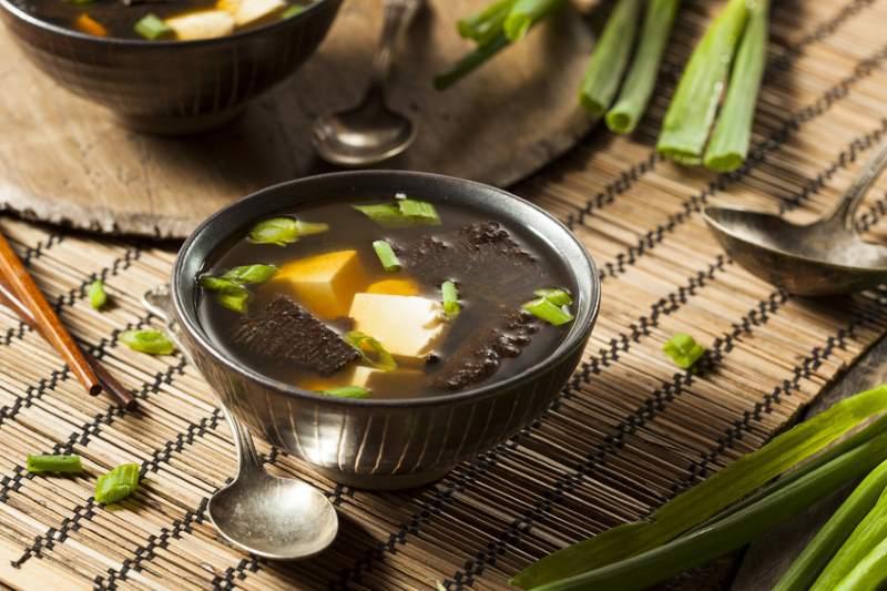 Kokos-Miso-Suppe