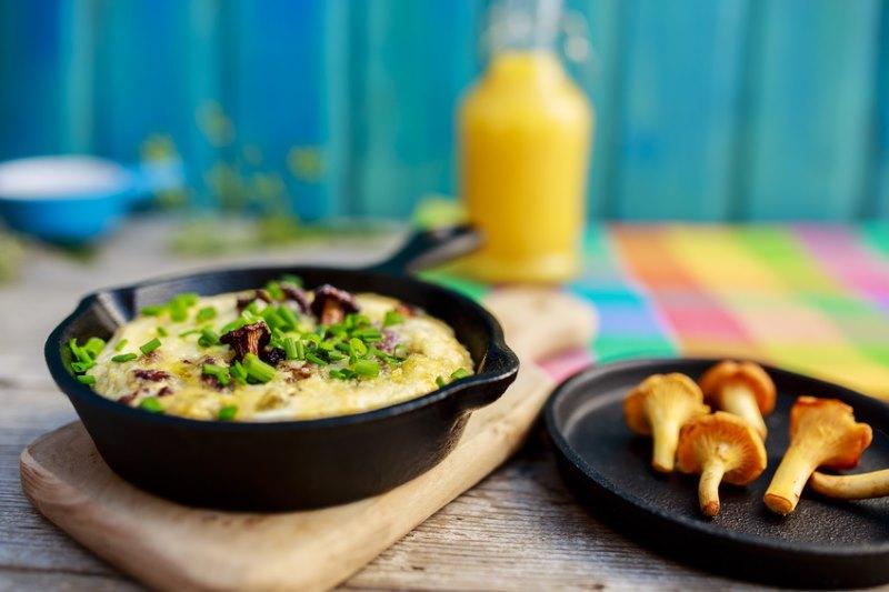 Kokosnussölomelette – Das Fitnessfrühstück