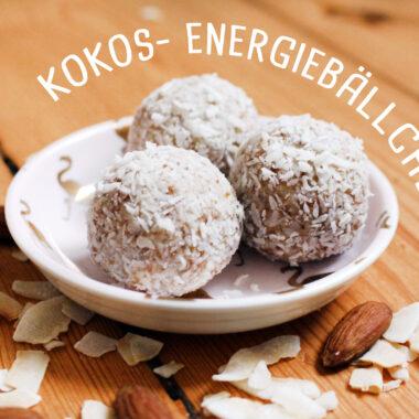 Kokos-Energiebällchen glutenfrei, vegan und unglaublich lecker