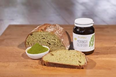 Moringa-Brot mit Hanfsamen