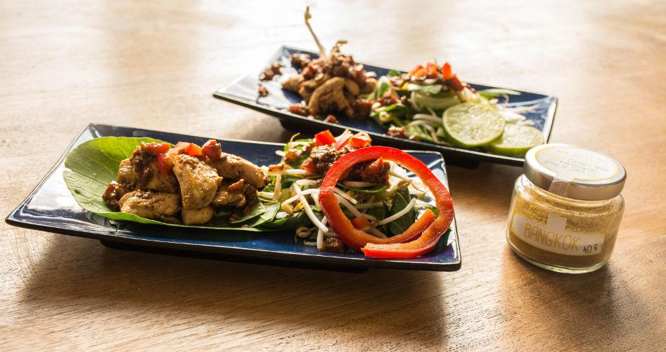 Hühnchen-Curry mit Kokosöl