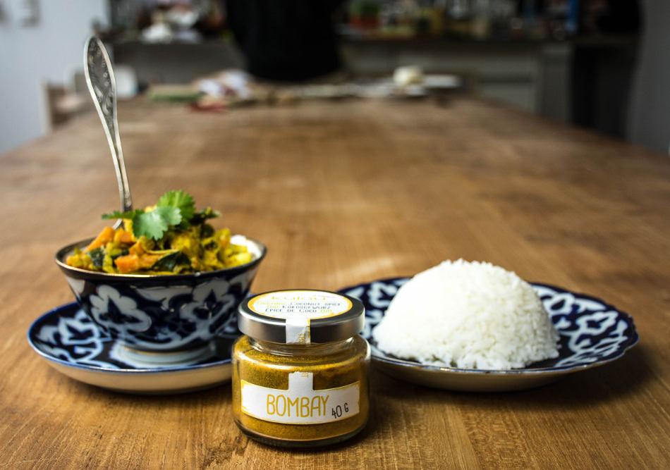 Gemüse-Curry BOMBAY mit Kokosmilch