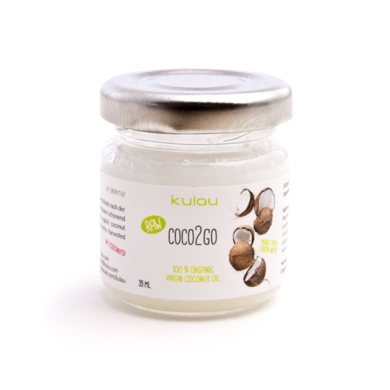 KULAU Bio-Kokosöl COCO2GO RAW 35 ml