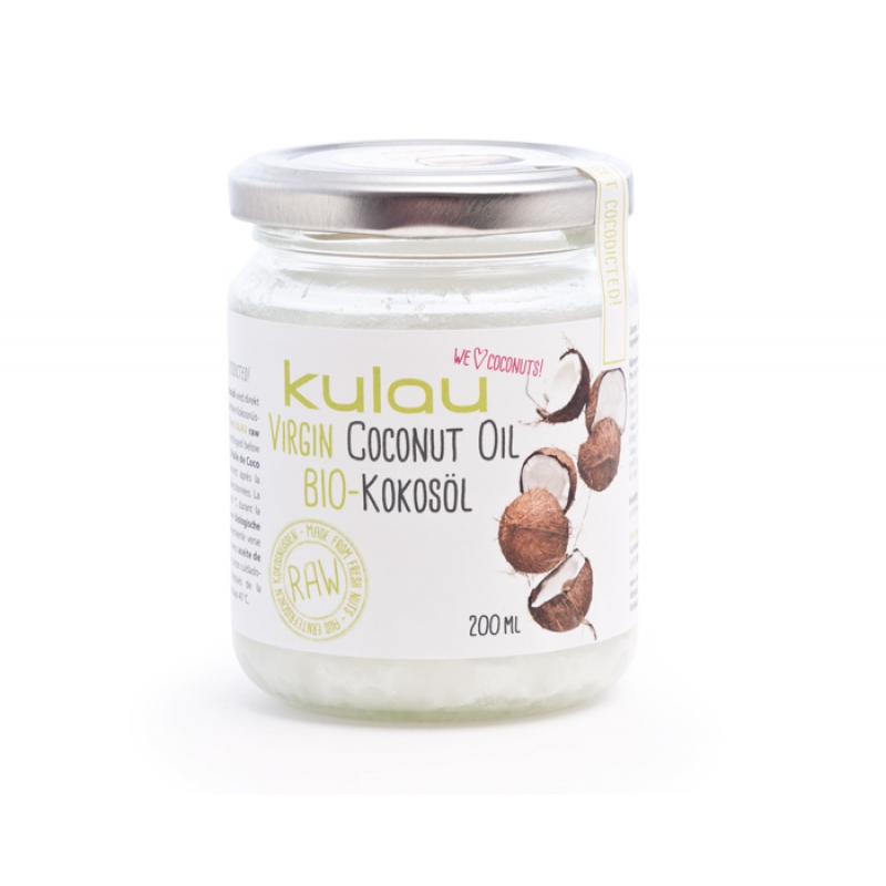 KULAU Organic Coconut Oil 200 ml