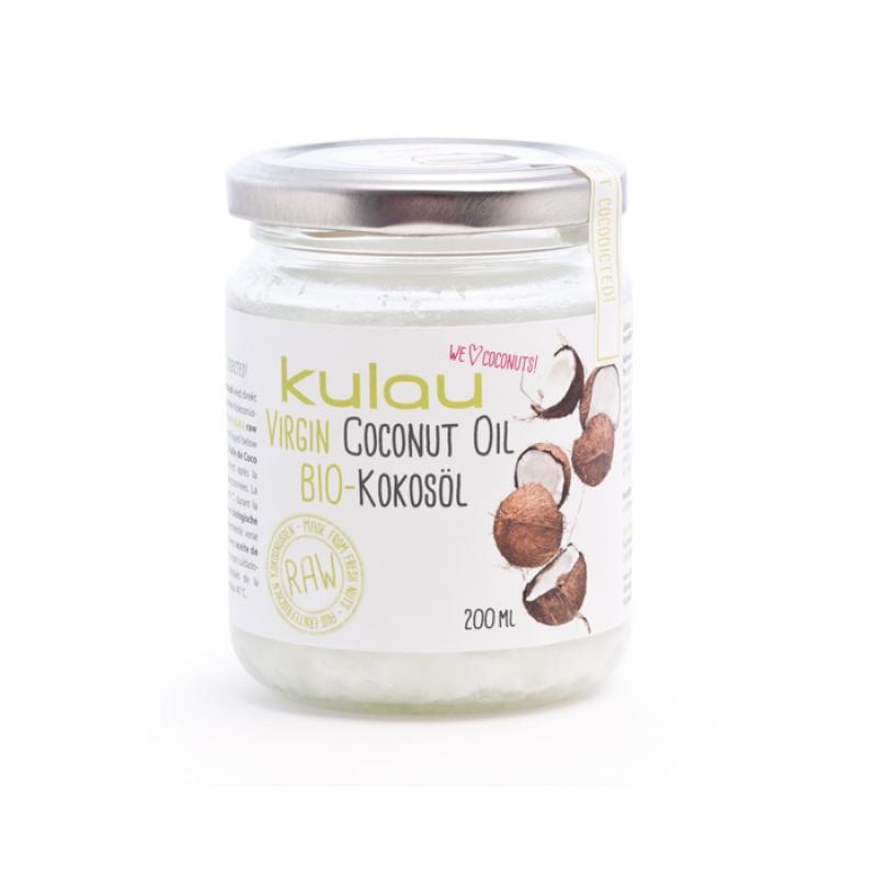 KULAU Organic Coconut Oil 200 ml