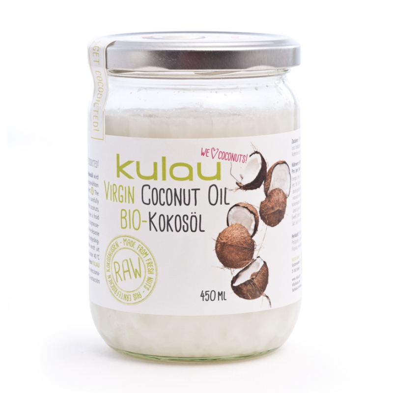 KULAU Bio-Kokosöl RAW 450 ml