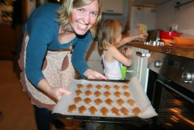Schmecken nicht nur zu Weihnachten: Mandelkekse mit Kokosblütenzucker