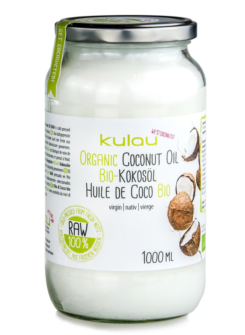 Produktbild vom KULAU Bio-Kokosöl 1 L.