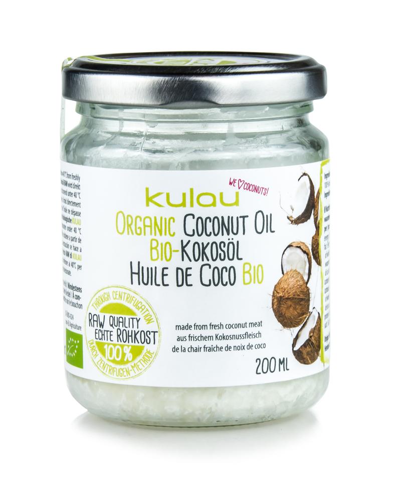 Produktfoto vom KULAU Bio-Kokosöl 200 ml.