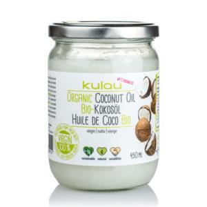 Produktfoto vom KULAU Bio-Kokosöl 450ml.