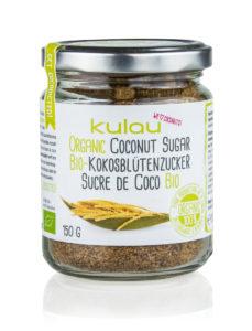 KULAU Bio-Kokosblütenzucker 150 g Vorderansicht