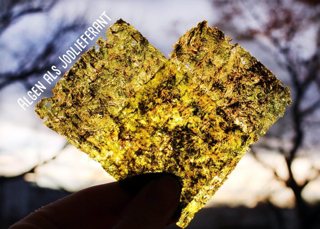 Jodversorgung mit Algen bei veganer Ernährung