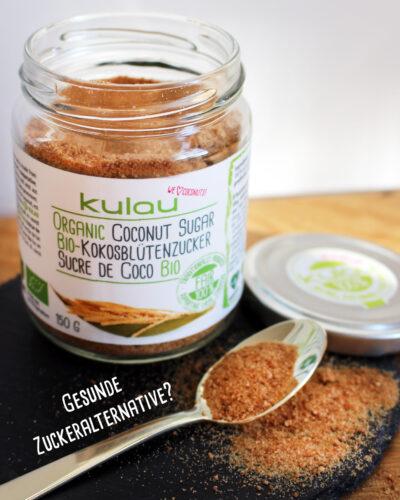 Kokosblütenzucker – eine gesunde Zuckeralternative?