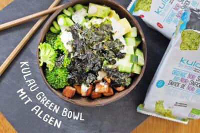 Kulau Green Bowl mit Nori-Snacks