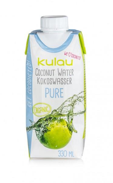 KULAU Bio-Kokoswasser PURE 330 ml