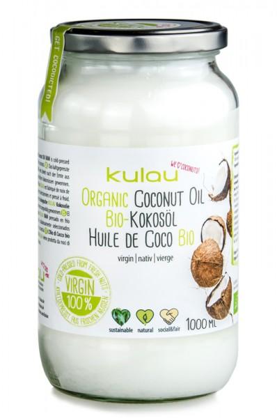 KULAU Bio-Kokosöl 1 l
