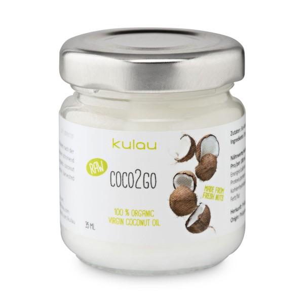 24× KULAU Bio-Kokosöl COCO2GO 35 ml