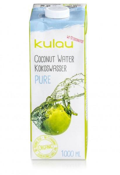 KULAU Bio-Kokoswasser PURE 1 l