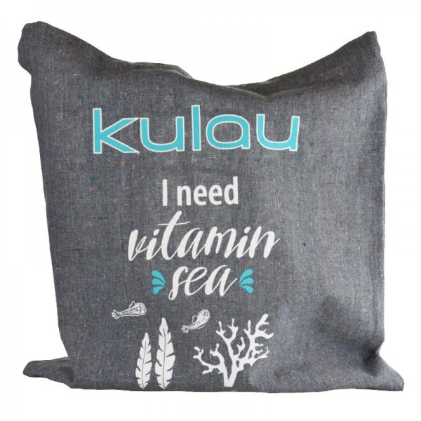 "KULAU Recycling-Baumwolltasche ""Vitamin Sea"""