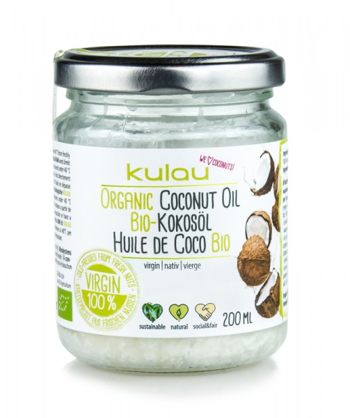 KULAU Bio-Kokosöl 200 ml
