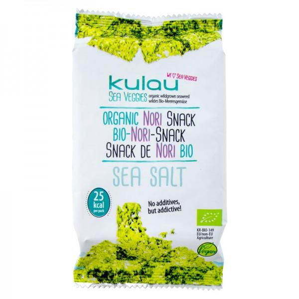 KULAU Bio-Nori-Snack Sea Salt 4 g