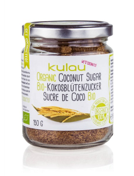 KULAU Bio-Kokosblütenzucker 150 g